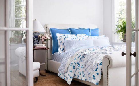 Georgica från Ralph Lauren Home. För exklusiva sovrum och lyxiga hem.