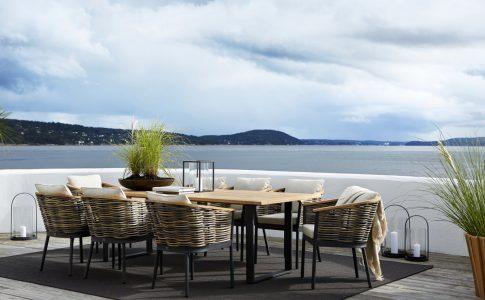 Utemöbler från Slettvoll. Terrassmöbler. Möbler för trädgården.