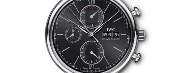 IWC Portofino Chronograph. En av flera lyxklockor du kan hitta hos HOOM.
