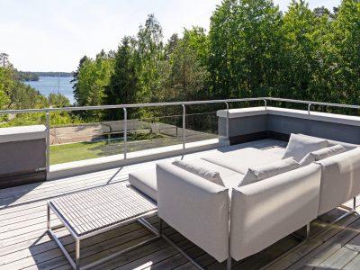 Modern villa i Östernäs på Ingarö - Skeppsholmen Sotheby's International Realty. Exklusiva hem i Stockholm med omnejd.