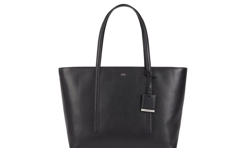 Exklusiva väskor från Boss. Den här är perfekt för shopping. Lyxiga väskor till bra pris.
