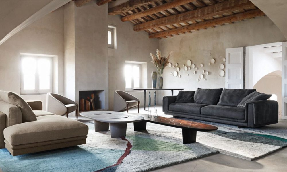 Nya kollektionen Underline från Roche Bobois. Exklusiva soffor för ett exklusivt vardagsrum hittar du här.