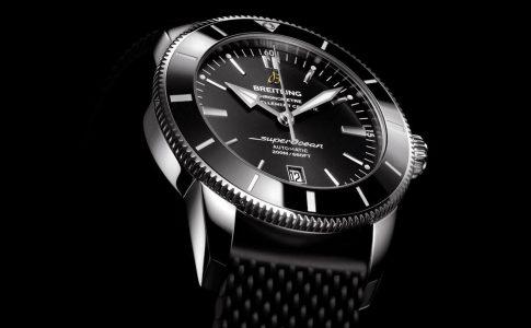 Breitling Superocean Heritage II. Exklusiva klockor från Schweiz är alltid något extra. En lyxig dykarklocka som tål tuffa förhållanden.