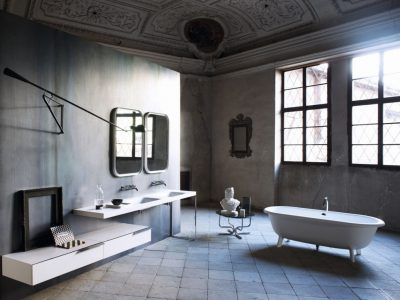 Exklusivt fristående badkar som passar perfekt i ett lyxigt badrum.