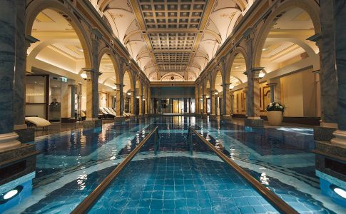 Grand Resort Bad Ragaz. Exklusiva spa och hotell i Europa.