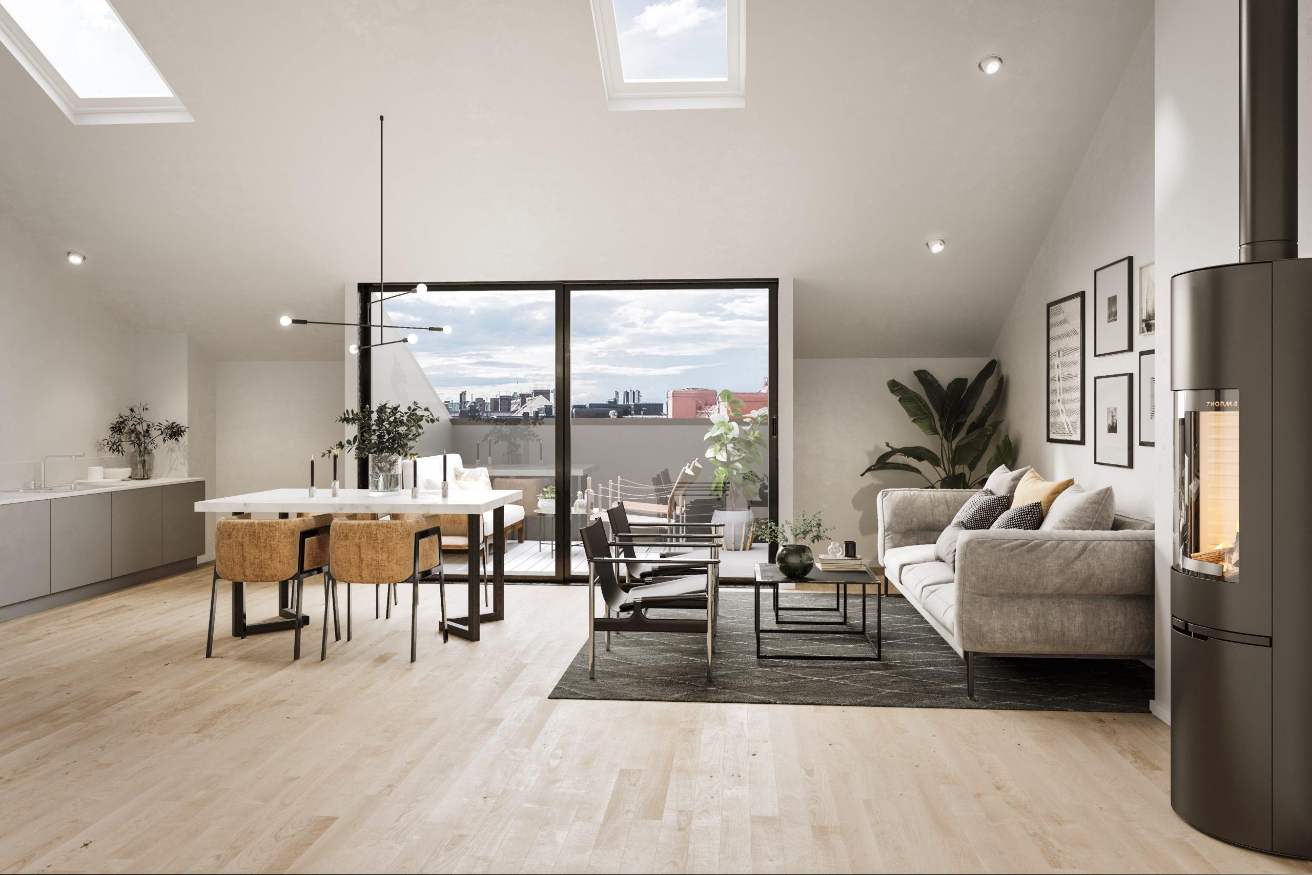 Simon Crest - Exklusiva fastighetsmäklare - När du söker exklusiva vindsvåningar och ett riktigt drömboende.