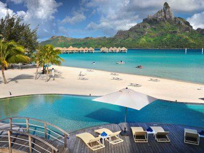 Hotel Le Meridien Bora Bora. Exklusiva resor till Franska Polynesien och Bora Bora.