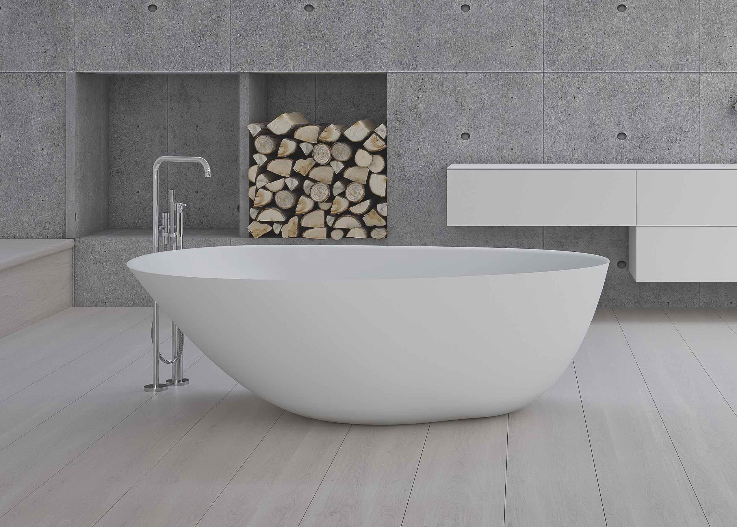 Exklusiva badrum med måttanpassade badrumsmöbler och måttanpassad badrumsinredning från Copenhagen Bath.