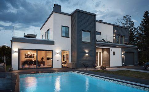 Villa Värmdö från Trivselhus. Exklusiva hus när du ska bygga nytt.