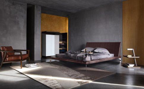 Exklusiva sängar, av högsta kvalitet, i ett exklusivt sovrum ger god sömn.