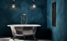 Exklusiva badkaret Ashburn från Drummonds. Perfekt för exklusiva badrum.