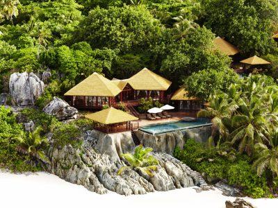Exklusiva hotell Seychellerna