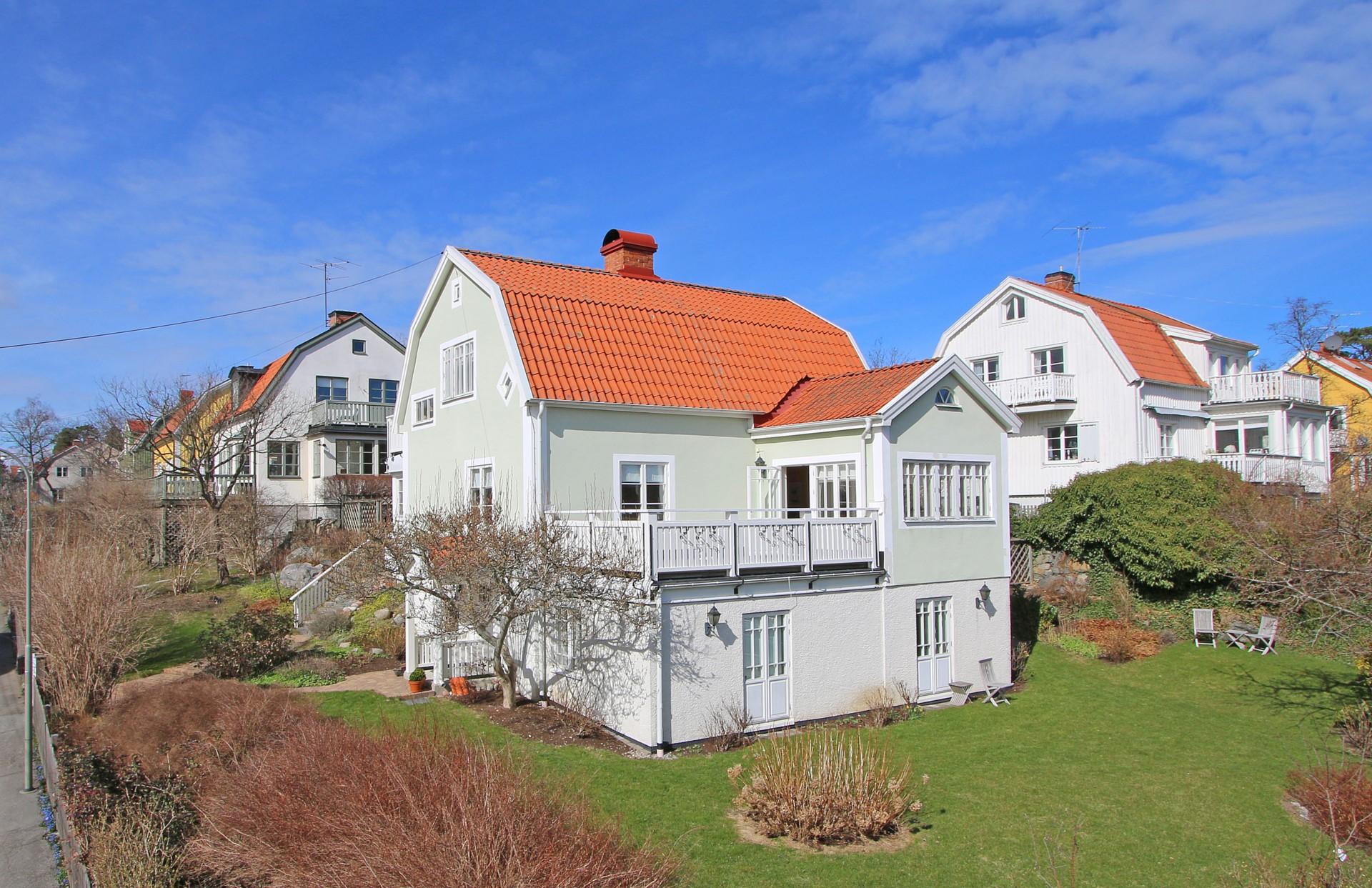 När du söker en exklusiv villa i Bromma. Drömboende nära Stockholm