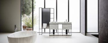Exklusiva badrum och exklusiva fristående badkar från Boffi.