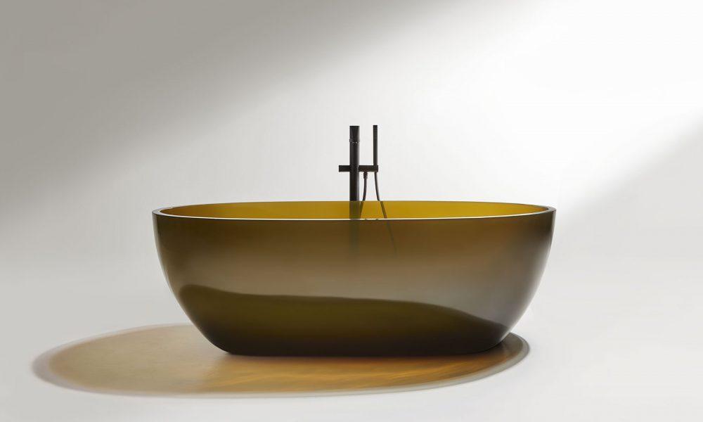 Exklusiva badkar för exklusiva badrum. Badkaret Reflex för Antonio Lupi.