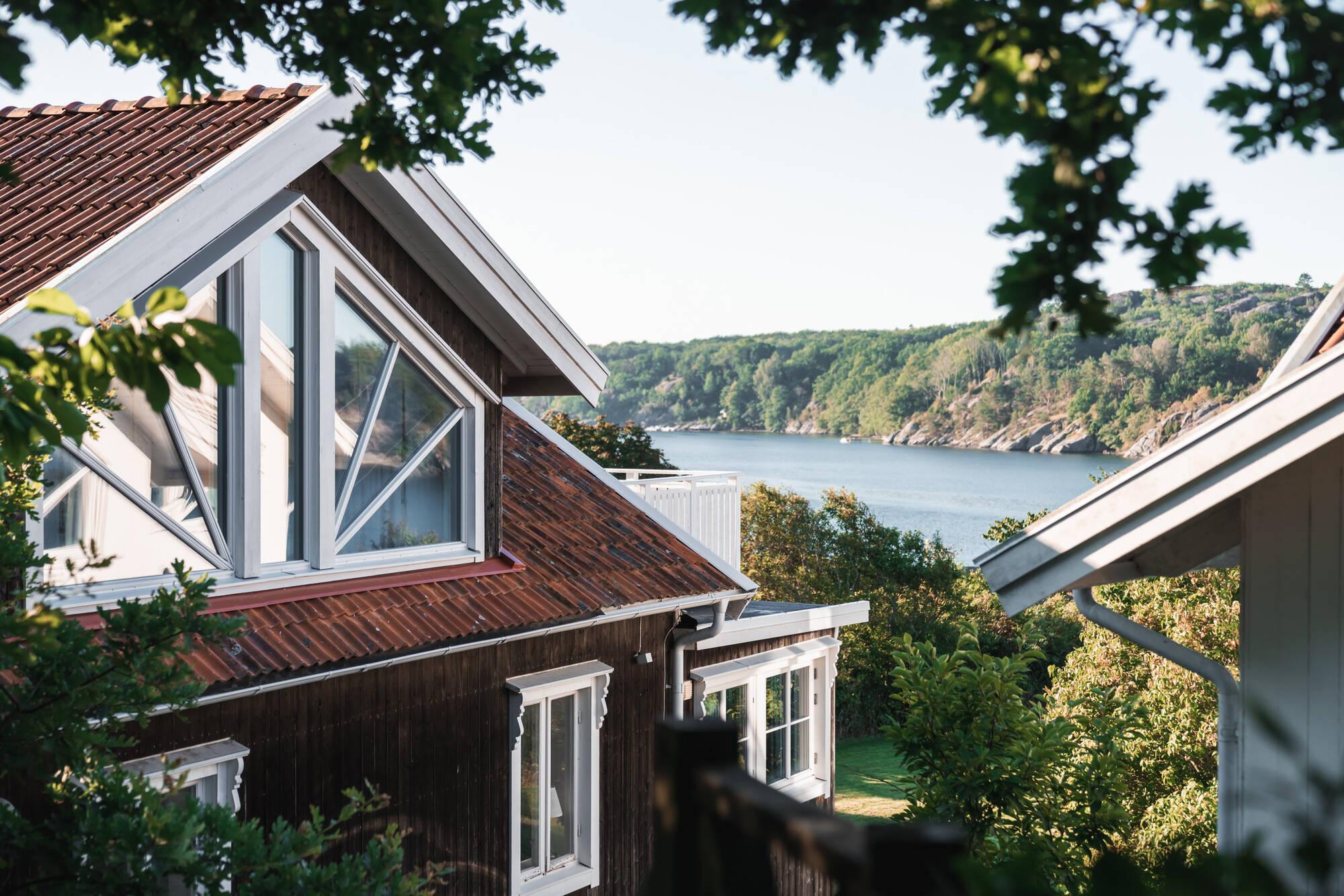 Två fantastiska fastigheter på Havsudden i Nösund, Orust. Exklusiva hem på västkusten.